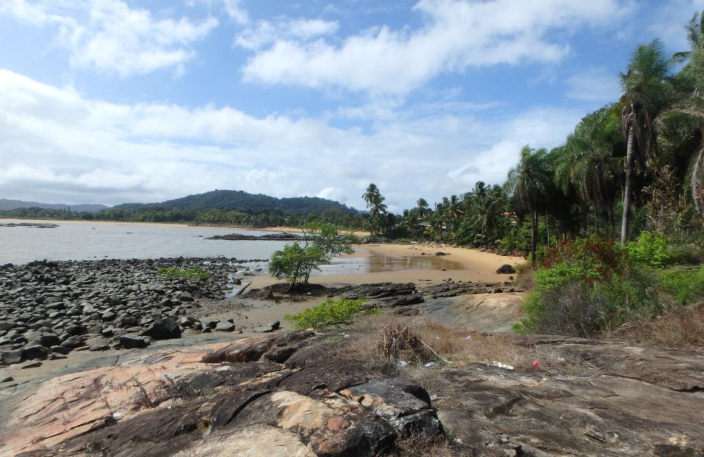 Plage de Bourda, Île de Cayenne, décembre 2016